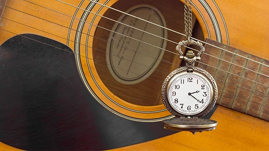 guitar time or clock