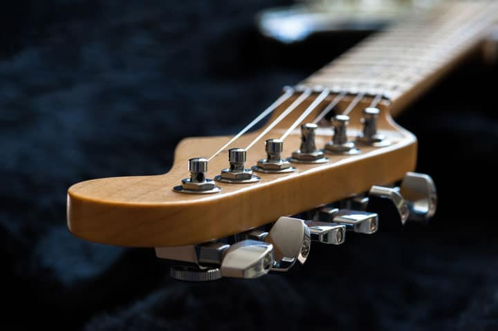 Guitar headstock or Tuning Machines