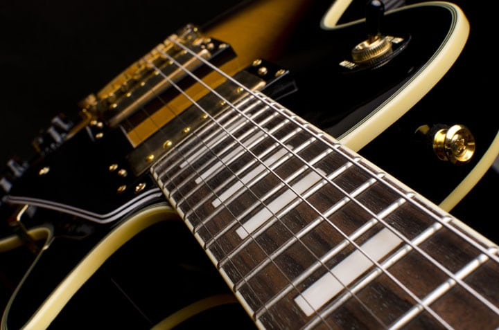 Electric Guitar neck (rosewood)