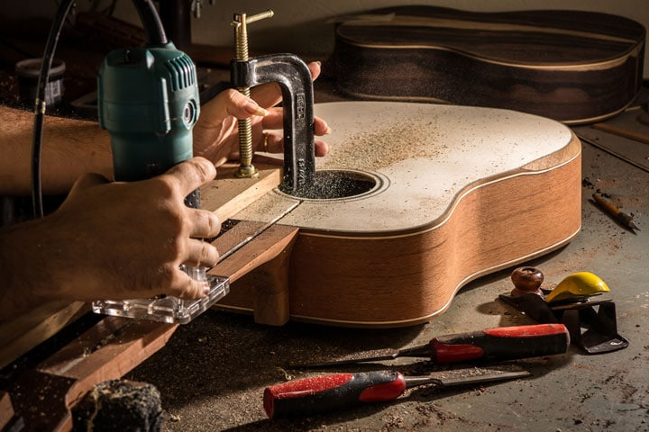 guitar woodworks