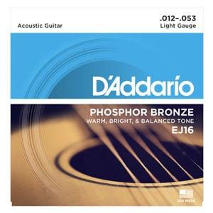 D'Addario Ej16 Acoustic Guitar Strings