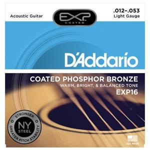 D'Addario EXP16 Acoustic Guitar Strings