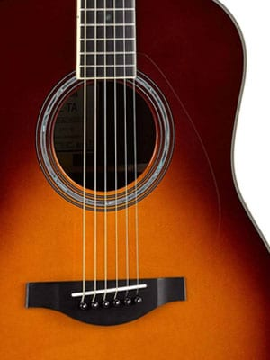 yamaha ll-ta brown sunburst