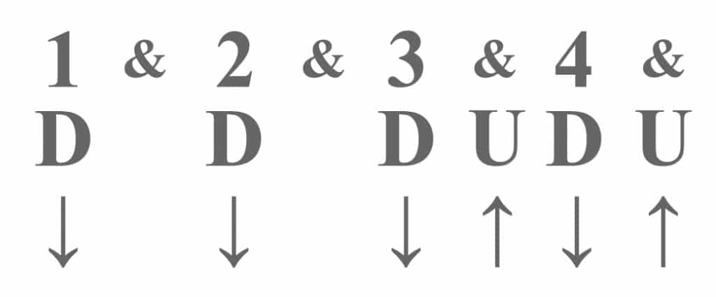 DU and arrow notation comparison