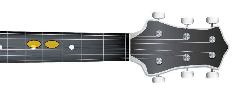 guitar semitone (F# G)