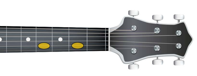 guitar tone (C# D#)