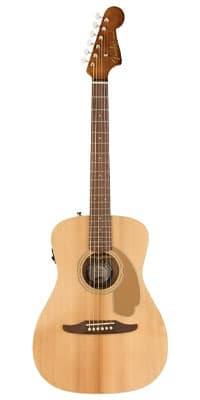 fender malibu acoustic guitar